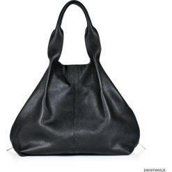 Torebki klasyczne damskie: GALAXY ZIPPER MIDI BAG Black