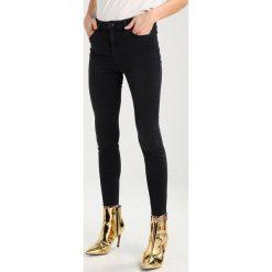 New Look LIFT & SHAPE RIPPED FRAY HEM SHAPER Jeans Skinny Fit black. Czarne jeansy damskie marki New Look, z materiału, na obcasie. Za 209,00 zł.
