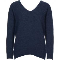 Sweter w kolorze niebieskim. Niebieskie swetry klasyczne damskie Gottardi, s, z wełny. W wyprzedaży za 173,95 zł.