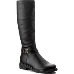 Oficerki JENNY FAIRY - WYL1017A-5 Czarny. Czarne buty zimowe damskie marki Jenny Fairy, ze skóry ekologicznej. Za 159,99 zł.