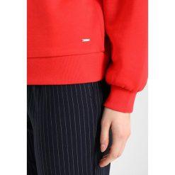 Bluzy rozpinane damskie: TOM TAILOR DENIM BALLON SLEEVE CREWNECK Bluza strong red
