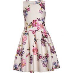 Sukienki dziewczęce: Friboo FLORAOL DRESS  Sukienka koktajlowa offwhite