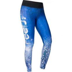 Spodnie damskie: Feelj Legginsy damskie termiczne Snow Walley niebiesko-białe r. M