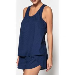 Piżamy damskie: Pizama z krótkimi spodenkami, cienki woal