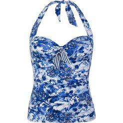 T-shirty damskie: Koszulka tankini w kolorze niebieskim