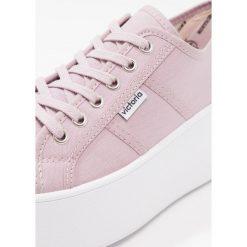 Trampki damskie slip on: Victoria Shoes BASKET LONA PLATAFORMA Tenisówki i Trampki violeta