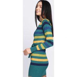 Zielona Sukienka Never See. Zielone sukienki dzianinowe Born2be, l, oversize. Za 39,99 zł.