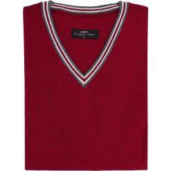 Sweter FABRIZIO 15-86SR. Czerwone swetry klasyczne męskie Giacomo Conti, m, z tkaniny. Za 199,00 zł.