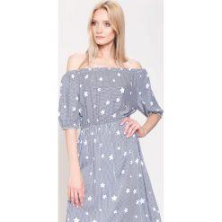 Sukienki: Granatowa Sukienka Moviestar