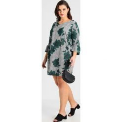Sukienki hiszpanki: Dorothy Perkins Curve FLORAL CHECK TUNIC DRESS Sukienka letnia green