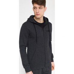 Bluzy męskie: Bluza męska BLM300 – ciemny szary melanż