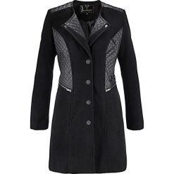 Płaszcze damskie: Krótki płaszcz bonprix czarny