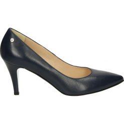 Czółenka - 23029 CAP BLU. Czarne buty ślubne damskie Venezia, ze skóry. Za 219,00 zł.