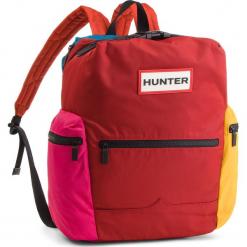 Plecak HUNTER - Orginal Col Block Topclip Backpack Nylon UBB6017MED Military Red Colourblock (Mrc). Czerwone plecaki męskie Hunter, z materiału. W wyprzedaży za 449,00 zł.