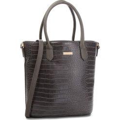 Torebka JENNY FAIRY - RC15134 Grey. Szare torebki klasyczne damskie marki Jenny Fairy, ze skóry ekologicznej, duże. Za 99,99 zł.