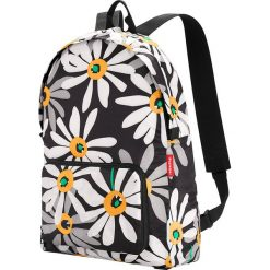 Plecaki męskie: Plecak w kolorze czarno-białym – 30 x 45 x 11 cm