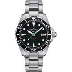 RABAT ZEGAREK CERTINA DS Action C032.407.11.051.02. Czarne zegarki męskie CERTINA, ze stali. W wyprzedaży za 2895,20 zł.