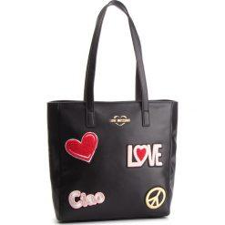 Torebka LOVE MOSCHINO - JC4081PP17LJ0000 Nero. Czarne torebki klasyczne damskie marki Love Moschino, ze skóry ekologicznej. Za 909,00 zł.