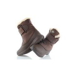 Śniegowce Tecnica  CATRINE VELCRO TCY WS 26010700-003. Brązowe buty zimowe damskie TECNICA. Za 219,50 zł.