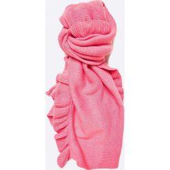 Vero Moda - Szal. Różowe szaliki damskie Vero Moda, z dzianiny. W wyprzedaży za 39,90 zł.