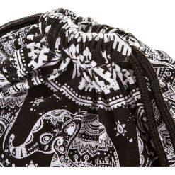 Plecaki damskie: PLECAK MŁODZIEŻOWY WOREK INDI SŁONIE