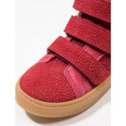 Bisgaard Tenisówki i Trampki wysokie berry. Czerwone buty sportowe dziewczęce Bisgaard, z materiału. Za 399,00 zł.