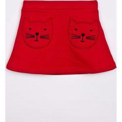 Trendyol - Spódnica dziecięca 98-128 cm. Czerwone minispódniczki marki Trendyol, z bawełny, proste. W wyprzedaży za 39,90 zł.