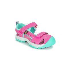 Sandały sportowe Dziecko  Teva  HURRICANE TOE PRO. Czerwone buty sportowe dziewczęce Teva. Za 191,20 zł.