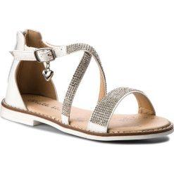 Sandały dziewczęce: Sandały NELLI BLU – CS1086-1 Biały