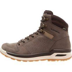 Lowa LOCARNO GTX MID Buty trekkingowe stein. Szare buty trekkingowe męskie Lowa, z materiału, outdoorowe. Za 779,00 zł.