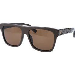 """Okulary przeciwsłoneczne męskie aviatory: Okulary przeciwsłoneczne """"0023/S FYW/A6"""" w kolorze brązowym"""