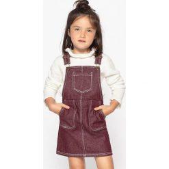 Sukienki dziewczęce: Dżinsowa sukienka na szelkach, 3-12 lat