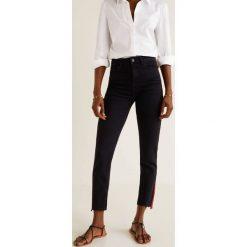 Mango - Jeansy Redline. Szare jeansy damskie relaxed fit Mango, z bawełny. Za 139,90 zł.