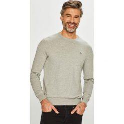 Polo Ralph Lauren - Sweter. Szare swetry klasyczne męskie Polo Ralph Lauren, l, z bawełny, z okrągłym kołnierzem. Za 639,90 zł.