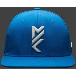 Czapki męskie: Czapka męska Maciek Kot Collection CAM501 - niebieski