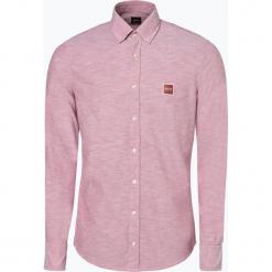 BOSS Casual - Koszula męska – Mabsoot, różowy. Czerwone koszule męskie na spinki BOSS Casual, l, z aplikacjami, z bawełny, z kwadratowym dekoltem. Za 429,95 zł.