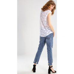T-shirty damskie: Sisley Tshirt z nadrukiem white