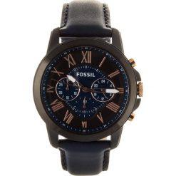 Zegarek FOSSIL - Grant FS5061 Blue/Black. Różowe zegarki męskie marki Fossil, szklane. Za 699,00 zł.