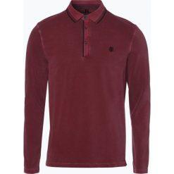 Marc O'Polo - Męska koszulka polo, czerwony. Czerwone koszulki polo Marc O'Polo, m, z długim rękawem. Za 339,95 zł.