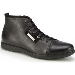 Buty męskie 87-M-931-1. Czarne buty skate męskie Wittchen, z materiału. Za 259,00 zł.