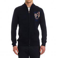 Sweter w kolorze ciemnoniebieskim. Niebieskie golfy męskie GALVANNI, m. W wyprzedaży za 269,95 zł.