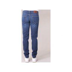 Jeansy slim fit Yurban  IHELENN SLIM. Niebieskie jeansy męskie Yurban, z jeansu. Za 143,20 zł.