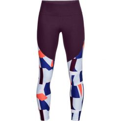 Spodnie damskie: Under Armour Legginsy damskie Vanish Printed Crop fioletowe r. M (1305434-564)
