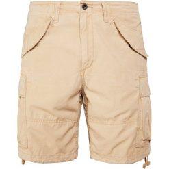Polo Ralph Lauren Szorty luxury tan. Brązowe szorty męskie marki Polo Ralph Lauren, z bawełny. W wyprzedaży za 407,20 zł.