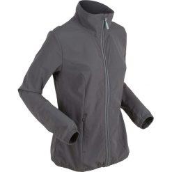 Bomberki damskie: Lekka kurtka treningowa, bardzo elastyczna bonprix szary