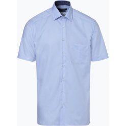 Andrew James - Koszula męska niewymagająca prasowania, niebieski. Niebieskie koszule męskie na spinki Andrew James, m. Za 129,95 zł.