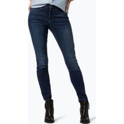 Spodnie z wysokim stanem: Cambio - Jeansy damskie – Jen, niebieski