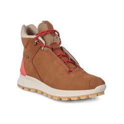 ECCO Exostrike L - Brązowy - 35 - Sportowe. Czarne buty trekkingowe damskie marki The North Face. Za 849,90 zł.