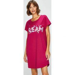 Triumph - Koszula piżamowa. Różowe koszule nocne i halki Triumph, xs, z nadrukiem, z bawełny. Za 89,90 zł.