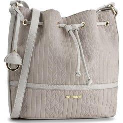 Torebka MONNARI - BAG1830-019 Grey. Szare torebki worki Monnari, ze skóry ekologicznej. W wyprzedaży za 129,00 zł.